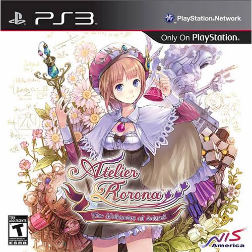 Atelier Rorona Cover